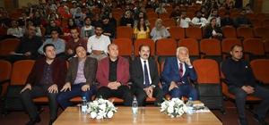 Yazar Yavuz Bülent Bakiler ERÜ'de öğrencilerle buluştu