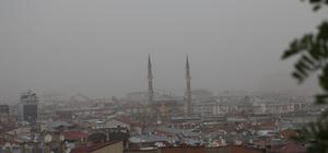 Sivas'ta toz bulutu etkili oldu
