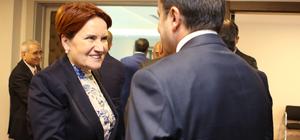 Akşener, Türkiye-AB KİK heyetini kabul etti