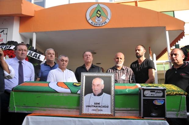 Alanyasporlu Ahmet ustaya son görev