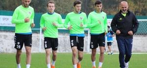 Karabükspor, Altay maçı hazırlıklarını sürdürüyor