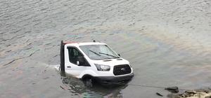 Samsun'da kamyonet baraj gölüne devrildi: 1 ölü