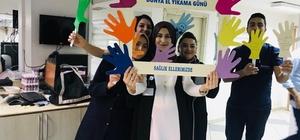 Lokman Hekim'de 'Dünya El Yıkama Günü' etkinliği