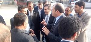 MHP Erzurum İl Teşkilatı, Karayazı, Hınıs ve Karaçoban'a çıkarma yaptı