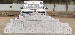 Mardin'de 8 bin 434 paket kaçak sigara ele geçirildi