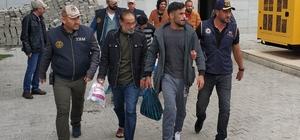 DEAŞ'tan gözaltı alınan 6 şüpheli adliyede