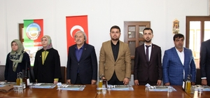 AK Parti Gençlik Kolları İlçe Dayanışma Toplantısı yapıldı