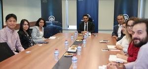 Kolombiya Devlet Ajansı ProColombia'dan AA'ya ziyaret