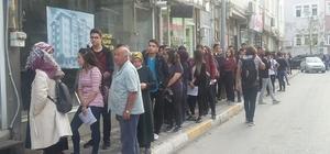 Tokat'ta 'Elektronik Kart' kuyruğu