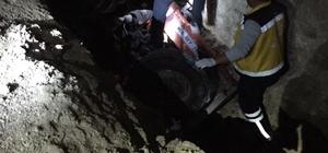 İvrindi'de traktör devrildi: 1 ölü, 2 yaralı