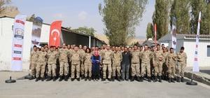 Jandarma kurum içi eğitimlere devam ediyor