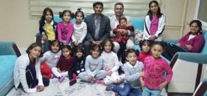 Van'da çocuklar yaşlılar ile buluştu