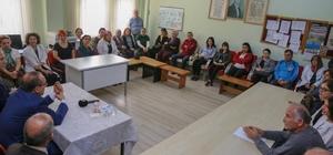 """Vali Yavuz'dan öğretmenlere destek Okul ziyaretlerinde bulunan Ordu Valisi Seddar Yavuz, öğretmenlere seslendi: """"Öğretmenlik meslek değil adanmışlıktır, hayat biçimidir"""""""