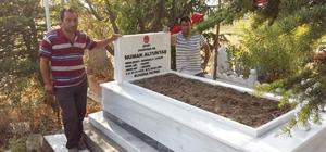 Şehit Jan. Er Numan Altuntaş'ın mezarı yenilendi