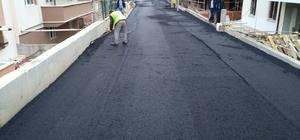 Ertuğrulgazi Mahallesi'nde asfaltlama çalışmaları sürüyor