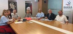Mesleki Eğitim Merkezi ile BAKKA sözleşme imzaladı
