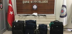 Hassas burun Bozo, uyuşturucu tacirlerine geçit vermedi Uçakla Ankara'ya götürülmek istenen 1 kilo 318 gram metamfetamin ele geçirildi