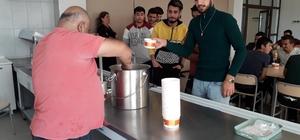 Germencik Belediyesi'nden öğrencilere çorba ikramı