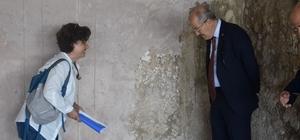 Zekai Kafaoğlu, Antandros kazılarını inceledi