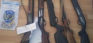 Denizli'de silah operasyonu
