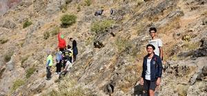 Kayaarası Kanyonu kamp tutkunlarının gözdesi oldu
