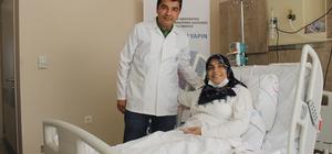Böbrek hastası kadın, gazetecinin böbreğiyle hayat tutundu