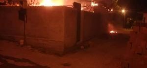 Manisa'da yangın: 2 kişi yaralandı
