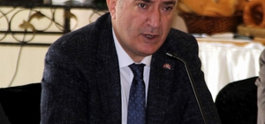 """Başkan Tok: """"Büyükşehir belediyesi başkan adayı genel başkanımızın kabulü olursa Baki Ersoy'dur"""" MHP İl Başkanı Serkan Tok: """"Aday adayları sayısının artması bizleri mutlu etti"""" """"Başbuğ'un memleketi Pınarbaşı'nı almak istiyoruz"""""""