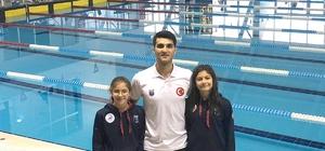 SANKO Okullarının iki yüzücüsü milli takımda