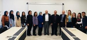 SDÜ Sağlık Yönetimi'nde 'Uzman Buluşmaları' programı
