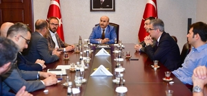 """Vali Demirtaş: """"Aladağ'da madencilikte özel sektör yatırımına desteğe hazırız"""""""
