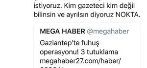 Gaziantep'teki gazeteciye fuhuş ve tehdit operasyonu