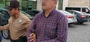 Marketten hırsızlık yaptıkları iddia edilen karı-koca gözaltına alındı
