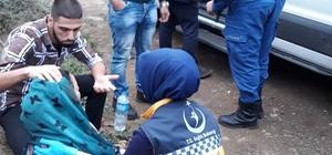 Baygın bulunan Suriyeli genç kızların korkudan bayıldıkları ortaya çıktı Genç kızların araçtan atlayarak kaçtıkları öğrenildi