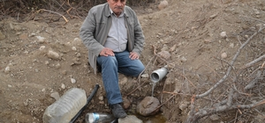 Köylüler su sorununun çözülmesini bekliyor