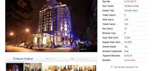 Isparta'nın tek 5 yıldızlı oteli internet üzerinden satışa çıkarıldı Sahibinden satılık 149 milyon 900 bin liralık otel