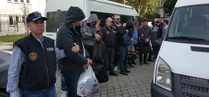 Samsun'da FETÖ'den 9 rütbeli asker adliyeye sevk edildi
