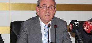 """Murzioğlu: """"Enflasyonla mücadele milli meseledir"""" Samsun TSO Başkanı Salih Zeki Murzioğlu: """"Bu milli meseleye destek olmaya tüm üyelerimizi davet ediyorum"""""""