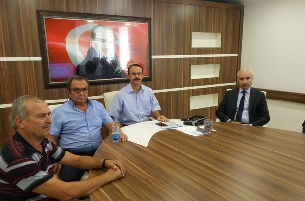 Bozyazı'da Sosyal Yardımlaşma ve Dayanışma Vakfı toplantısı