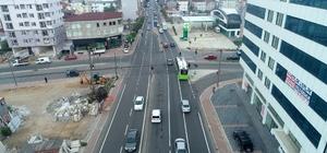 Işıkgöl Caddesi'nde asfalt çalışması yapıldı