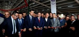 Güney Marmara'nın en büyük canlı hayvan pazarı açıldı 5 milyon liraya mal olan Mustafakemalpaşa Hayvan Pazarı hizmete girdi
