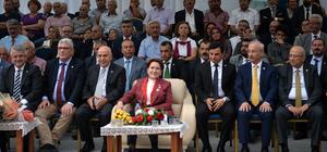 İYİ Parti Genel Başkanı Meral Akşener, Mersin'de