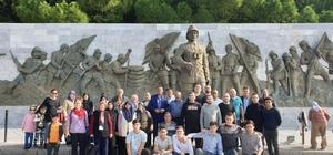 Eskişehir Yunus Emre Ülkü Ocakları'ndan Çanakkale çıkarması
