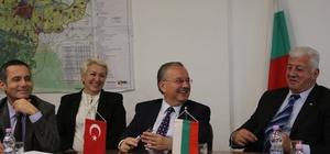 """Edirne Valisi'nden Bulgaristan Başbakanı'na """"baklava"""""""