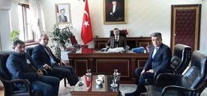 Proje Koordinatörü Atasever'den Kaymakam Perçi'ye ziyaret