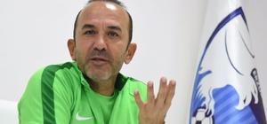 """Mehmet Özdilek: """"Takımın morali son derece iyi"""" BB. Erzurumspor Teknik Direktörü Mehmet Özdilek: """"Kendi evimizde seyircimizin önünde tek düşüncemiz kazanmak olacak"""""""