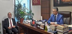Rektör Çomaklı, Erzurum Milletvekillerini ziyaret etti