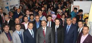 Erzurum 7. İstihdam Fuarı ve Kariyer Günleri ziyarete açıldı
