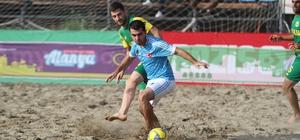 Alanya'da TFF Plaj Futbolu Ligi finalleri başladı
