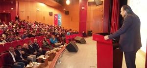 """TATSO Başkan Yardımcısı Cengiz Şahin, öğrencilere """"Mühendislik"""" mesleğini anlattı"""